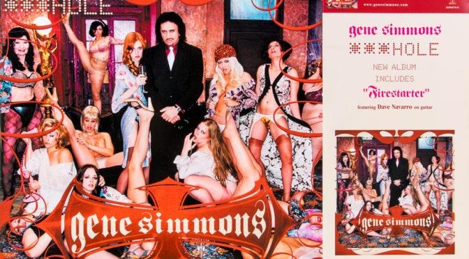 Gene Simmons – Hajzl, idiot, kretén, vůl a zmrd … prostě Asshole!